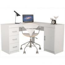 Mesa para Computador/Escrivaninha Bariloche - 1 Porta 3 Gavetas - Politorno