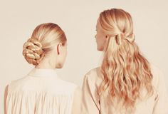 Cute hairstyles for any casual or formal attire.