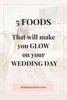 GLOW before, during and after your honeymoon with the help of these amazing foods