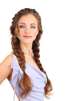 Long thick double braid - Top 9 Braided Hairstyles for Long Hair