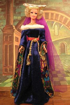 From The Great Eras® Collection, Barbie® doll captures the true essence of medieval times in this incredible costume. Description from pinterest.com. I searched for this on bing.com/images