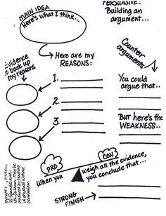 Writing - Persuasive argument.                                                                                                                                                      More