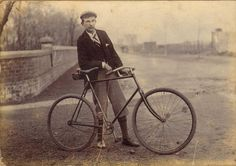 "vintage bicycle handlebars - ""U"" shape"