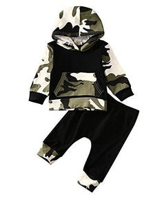 Sleezy Infant Baby Boys Camouflage Hoodie Tops +Long Pants Outfits Set Clothes 0-3Y (2T-3T, Camouflage). For price & product info go to: https://all4babies.co.business/sleezy-infant-baby-boys-camouflage-hoodie-tops-long-pants-outfits-set-clothes-0-3y-2t-3t-camouflage/ #babyboyhoodies