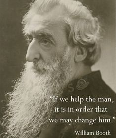 """Apr 10, birthday of Wm Booth, founder of the Salvation Army, author of """"In Darkest England & The Way Out."""" http://www.patheos.com/blogs/scriptorium/2009/04/william-booths-army-of-salvation/"""