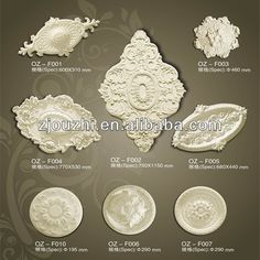 PU Wall accessries / PU building material/Home&Interior decoration /Wall Decoration, View interior decoration design, Ou Zhi Product Details from Haining Ou Zhi Exquisite Materials Co., Ltd. on Alibaba.com