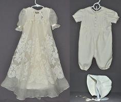 robe de baptême à partir d'une robe de mariée