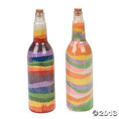 Tropical Sand Art Bottles, Sand Art, Crafts for Kids, Craft & Hobby Supplies - Oriental Trading