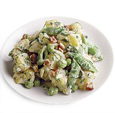 Potato Salad with Peas and Pancetta