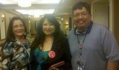 My co-worker Cheryl and my idol from my Alcatraz days.. Lanada War Jack