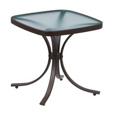 Hampton Bay Mix and Match Square Metal Outdoor Side Table-FTS00499 - The Home Depot