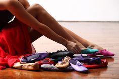 www.lingeshoes.com colorful ballet flats