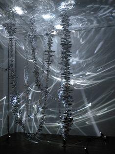 Kazue Taguchi: the contemplation of ephemeral and infinite light strokes Light Art Installation, Berlin Art, Shadow Art, Art Sculpture, Environmental Art, Public Art, Oeuvre D'art, Les Oeuvres, Light And Shadow