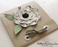 Clever for Tea bag or Ghiradellia chocolate inside. Melissa Samuels