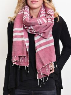 fashionABLE Selam scarf, providing an opportunity out of prostitution for women in Ethiopia.