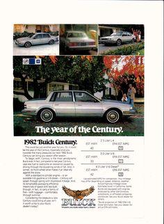 1982 Buick Century, a popular car in the USA, Mexico, Canada and Venezuela