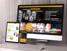 mykegs - corporate design und shop-Entwicklung