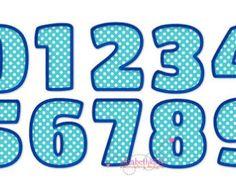 Sizes 3 4 5 6 Applique Number 420 Machine by elizabethk314