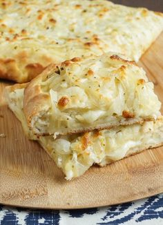 Onion and Cheese Pizza