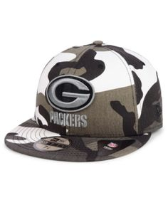 6859b32b694c5d Green Bay Packers Urban Prism Pack 59FIFTY-FITTED Cap. Football CapsBaseball  ...