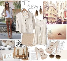 """""""nude colors."""" by sasskia on Polyvore"""