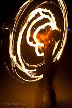 Play with fire @ Burning Man - Black Rock Desert in NV