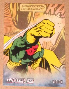 SUPER-SKRULL Upper Deck Marvel Legendary SKRULLS