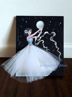 Diy Craft Projects, Diy Crafts, Art Fil, Girls Room Wall Decor, Wedding Cards Handmade, Happy Art, Fairy Dolls, Nursery Art, Diy Art