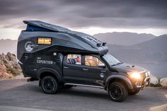 The Toyota Hilux Camper Is A Expedition Truck On Steroids Toyota Motorhome, Toyota Camper, Toyota Hilux, Toyota Tacoma, Auto Camping, Truck Bed Camping, Hilux Camper, Ford Motor Company, Off Road Camper