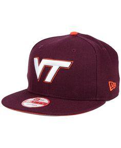 2c203942b3f New Era Virginia Tech Hokies Core 9FIFTY Snapback Cap Virginia Tech Hokies
