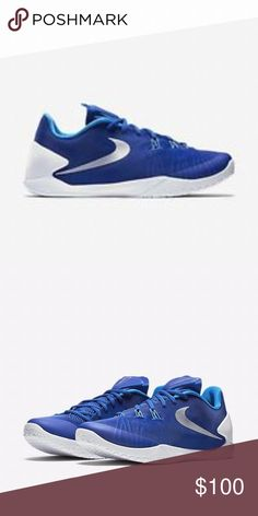 best service f059a 998d6 Nike Game Royal White Blue HyperChase 9 Nike Game Royal White Blue