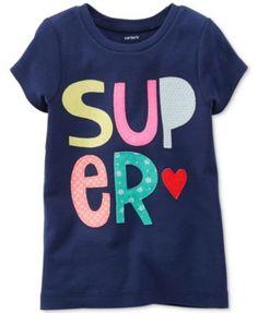 Carter's Little Girls' Super Tee