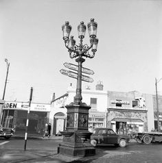 The Five Lamps, North Strand, Dublin. Dublin Street, Dublin City, Ireland Pictures, Old Pictures, Travel Around The World, Around The Worlds, Ireland Homes, Photo Engraving, World Photo