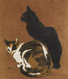 Two Cats | Théophile-Alexandre Steinlen