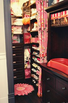 Baby Girl Walk In Closet