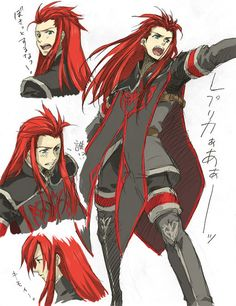 tales of the abyss asch - Google Search
