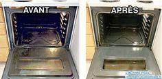 Utilisez du bicarbonate pour nettoyer un four enrcassée