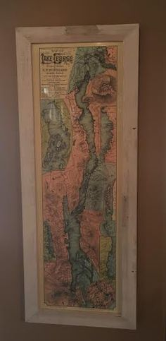 A personal favorite from my Etsy shop https://www.etsy.com/listing/254404172/sr-stoddard-1889-edition-map-of-lake