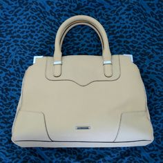 Rebecca Minkoff Amorous Leather Satchel Beautiful leather satchel by Rebecca Minkoff.  Three compartments for organization. Middle zip compartment to secure important items. Used 2-3 times. Comes with dust bag. Rebecca Minkoff Bags Satchels