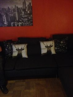 And my lovely stag cushions............