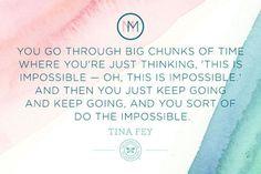 Mindful Monday: Tina Fey on Motherhood
