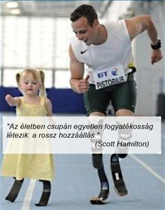 Oscar Pistorius of South Africa - 2012 Olympian. Maybe my favorite of all the recent photos of Olympians. He's Oscar Pistorius of South Africa. She's Ellie, she's and she got to race him. She won all four times. Oscar Pistorius, Great Quotes, Quotes To Live By, Inspirational Quotes, Quotes Quotes, Farm Quotes, Enjoy Quotes, Body Quotes, Fantastic Quotes