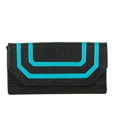 Take a look at this Turquoise Tory Clutch by Vieta on #zulily today!