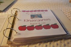 simply organized: school memory binders
