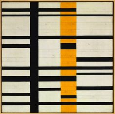 baisers volés - Burgoyne Diller: Untitled Third Theme (unfinished), ca. Piet Mondrian, Abstract Geometric Art, Quilt Modernen, Josef Albers, Art Plastique, Oeuvre D'art, Textile Art, Fiber Art, Design Art