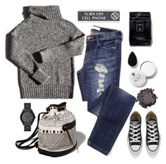 """""""Weekend"""" by bamaannie ❤ liked on Polyvore featuring Garance Doré, Abercrombie & Fitch, Converse, Michael Kors, women's clothing, women's fashion, women, female, woman and misses"""
