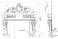 Bespoke | stone | marble |fireplace | fountain Architecture Blueprints, Facade Architecture, Marble Carving, Construction Drawings, Oldschool, Portal, Marble Fireplaces, Prayer Room, Villa Design