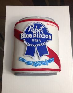 Pabst beer cake