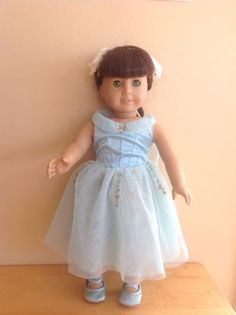 American Girl Blue Ballet Outfit