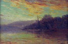 Autumn Sunset - Robert Julian Onderdonk